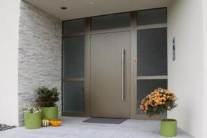 Haustüren Aluminium